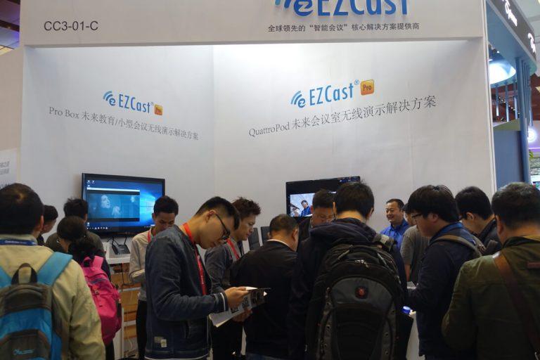 EZCast Pro at InfoComm China