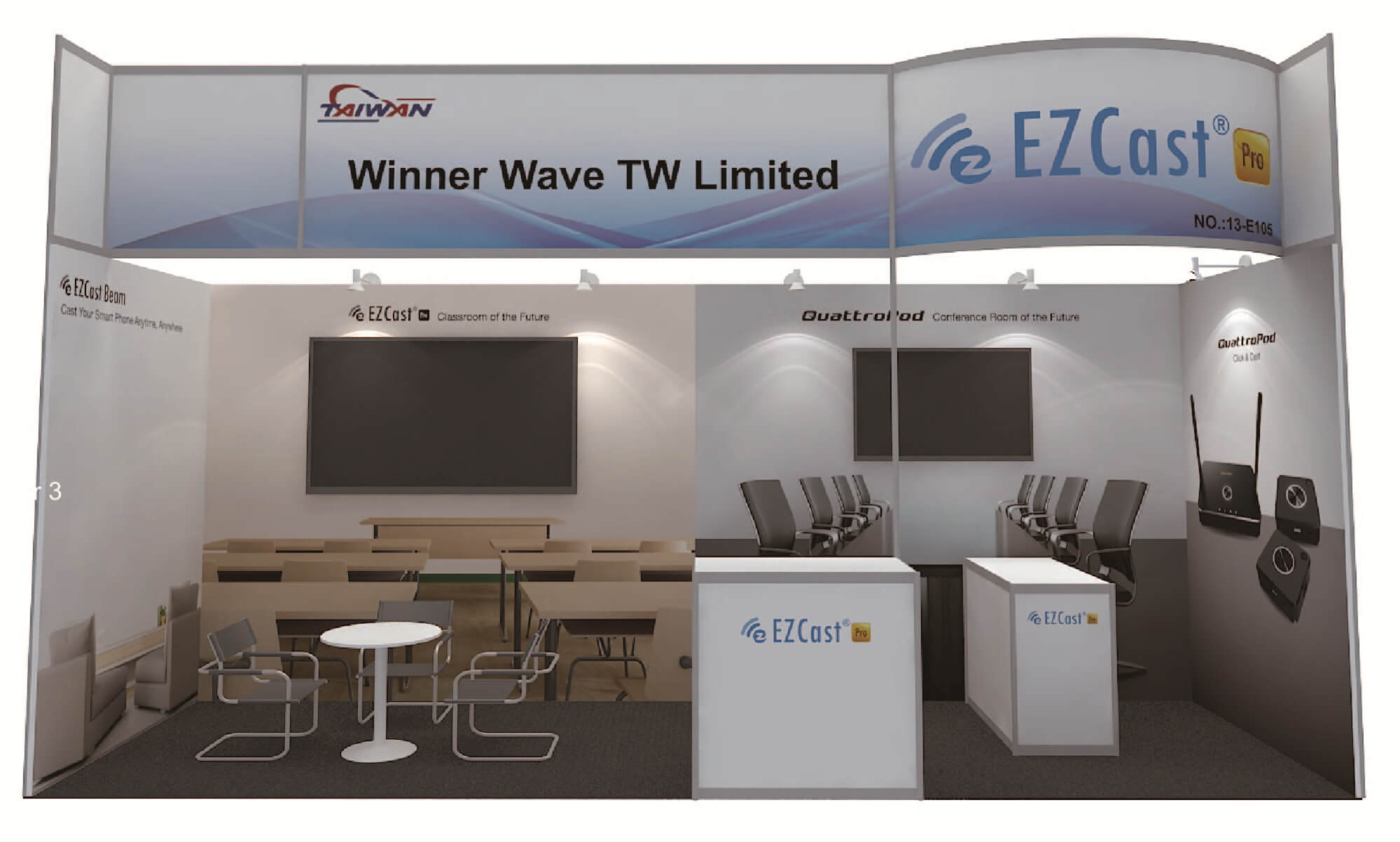 EZCast Pro at ISE