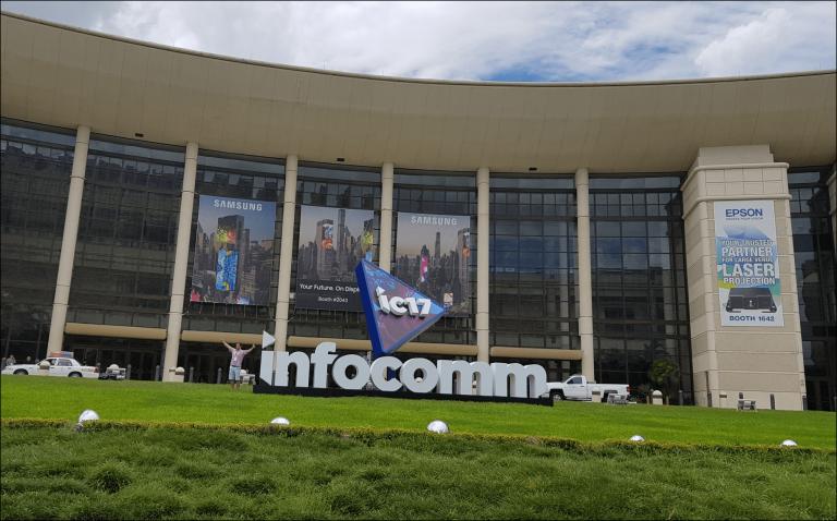 EZCast Pro at InfoComm