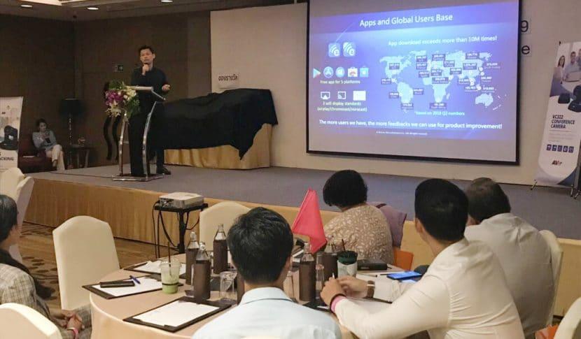 EZCast Pro presentation at Worathan Technology
