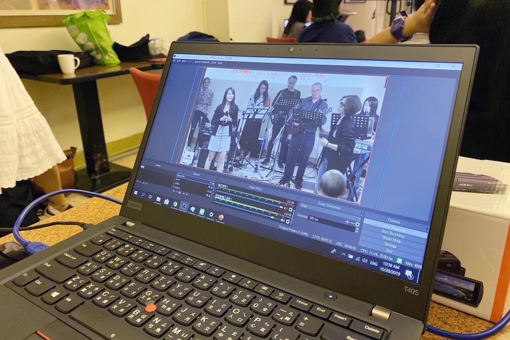 Video editing and streaming at church