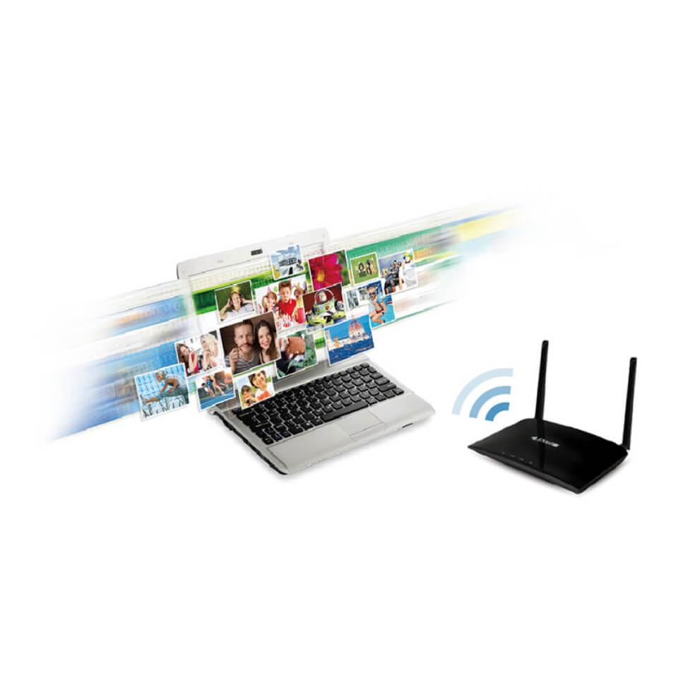dual band WiFi network
