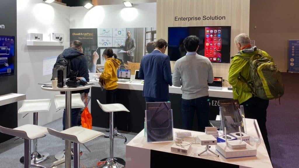 enterprise application demo at ISE 2020