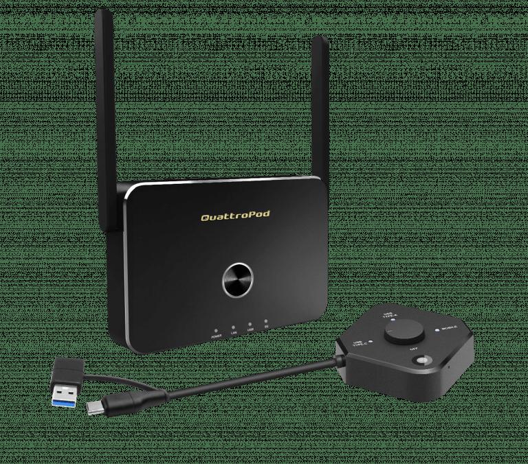 QuattroPod USB 1T1R
